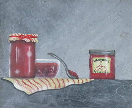 Strawberry jam by Fran Haas