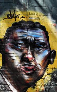 Andrea Kollo - Street Art Portrait
