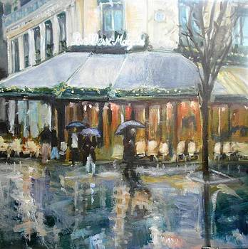 Street Cafe by Anna Kowalewicz