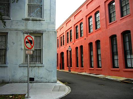 Street Corner by Sharon Farris