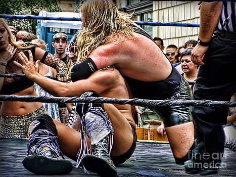 Joan  Minchak - Street Fair Wrestling