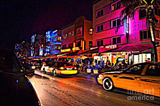 Pravine Chester - Street in Miami
