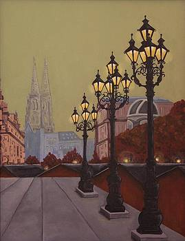 Street Lamps by Jennifer Lynch