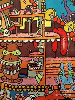 Andrea Kollo - Street Mural