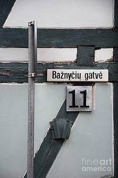 Street Plate by Agnieszka Kubica