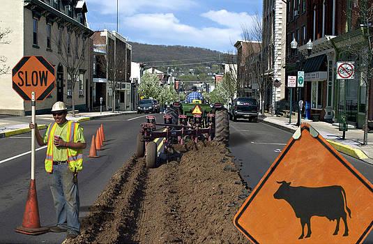 Street Project in Rural Danville PA by Glen Klein