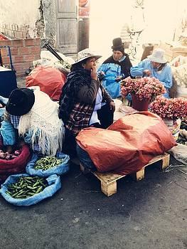 Street Vendor by Jade Sayers
