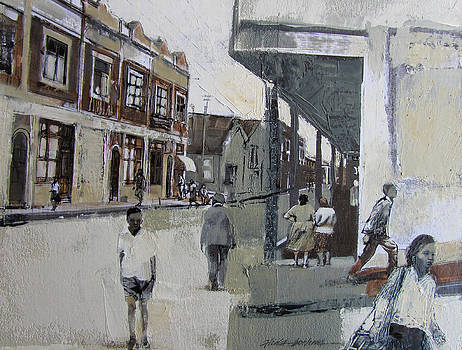 Street Walking II by Alida Bothma