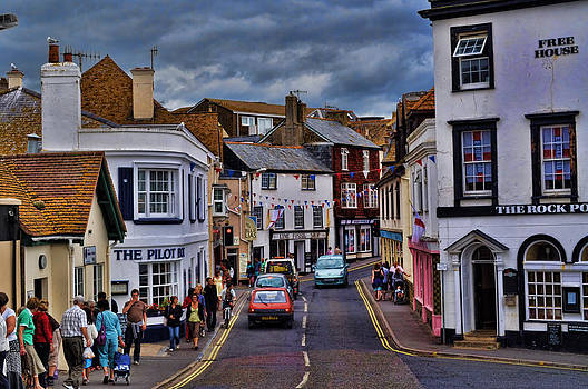 Streets of Lyme Regis by Andrea Everhard