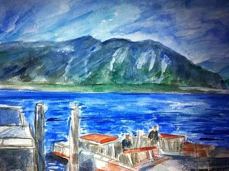 Stresa Italian Lakes by Angela Puglisi