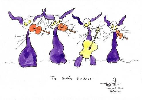 String Quartet by Tis Art