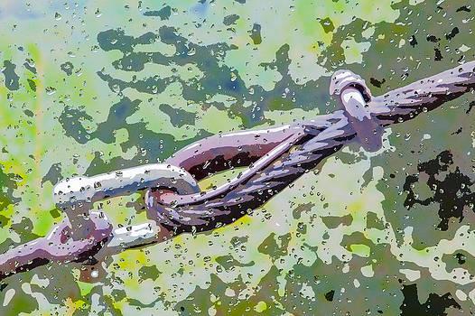Kantilal Patel - Structural Ropes Raindrops