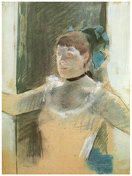 Edgar Degas - Study for Bust of a Dancer
