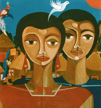 Madalena Lobao-Tello - Study for love is like a bird