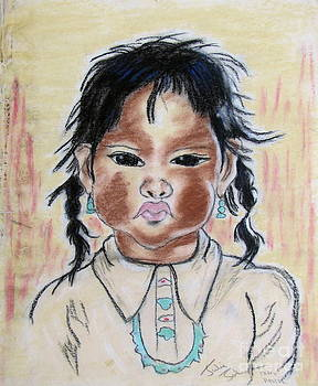 Study of a Navajo Child by Julie Coughlin