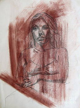 Study of a Woman by Julie Coughlin
