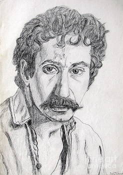 Study of Jim Croce by Julie Coughlin