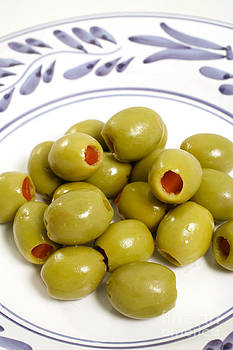Gaspar Avila - Stuffed green olives