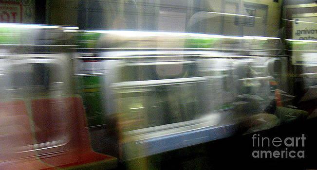 Subway Spirits by Maria Scarfone
