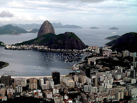 Sugarloaf Mountain Brasil by Salty Elbows