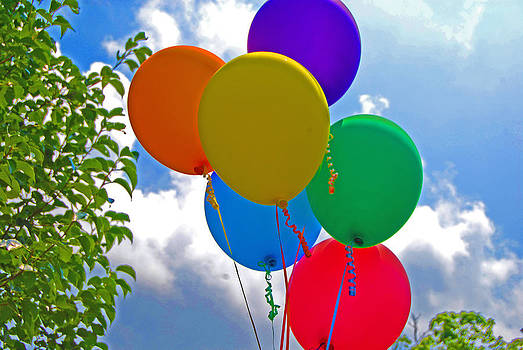 Summer Balloons by Peter  McIntosh