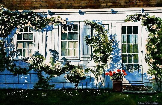 Summer Cottage by Susan Elise Shiebler