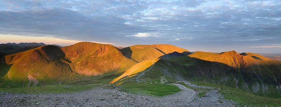 Summer Dawn Grisedale Pike by Stewart Smith