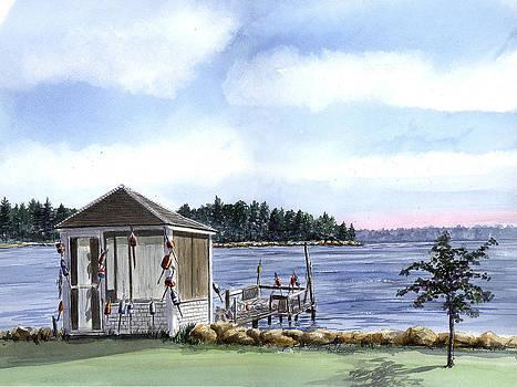Summer Dock by Paul Gardner