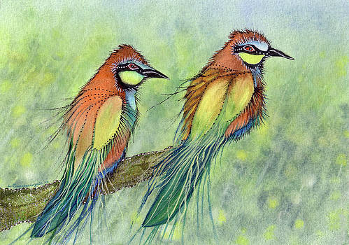 Summer Duet by Lesley Smitheringale