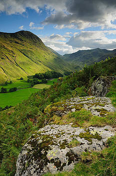 Summer Evening Grisedale Valley by Stewart Smith