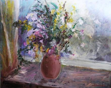 Summer Flowers by Anna Kowalewicz