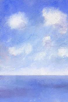 Summer Sea from Ventnor by Alan Daysh