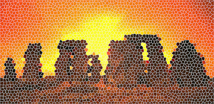 Summer Solstice at Stonehenge by Steve Huang