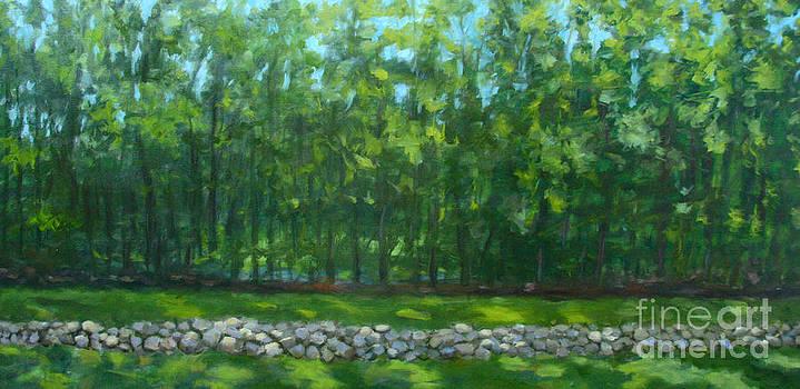 Summer Woods by Jane  Simonson