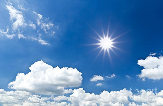 Sun And Sky by Mongkol Chakritthakool