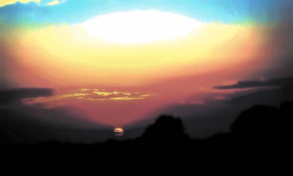 Sun Down by Steve Buckenberger