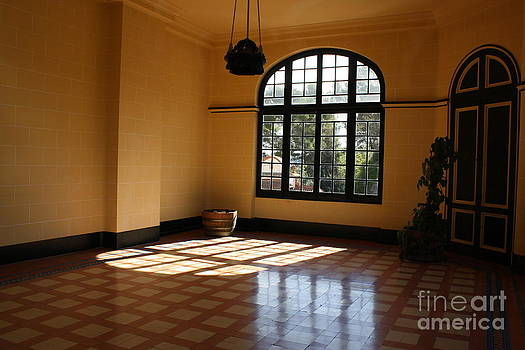 Sun Filled room by Dennis Curry