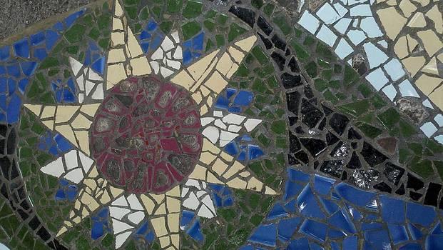 Sun Flower Mosaic by Catherine Kurchinski