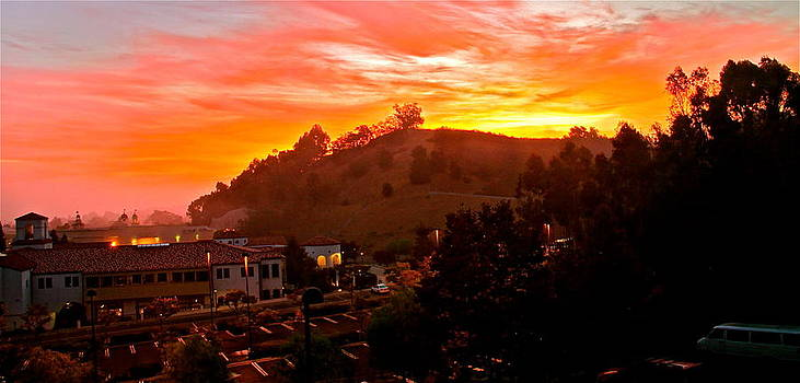 sun rise 86 degrees NE by Ronald  Bell