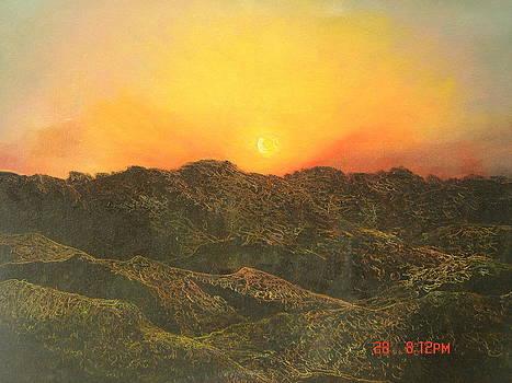 Sun Rise by Manjula Prabhakaran Dubey