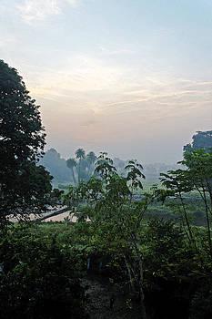 Kantilal Patel - Sun rise over Mhow