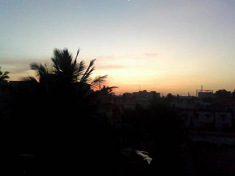 Sun Set by Amisha Tripathy