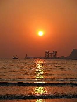 Sun Set01 by Maneesha Mahapatra