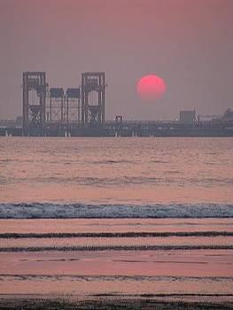 Sun Set02 by Maneesha Mahapatra