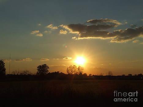 Scott B Bennett - Sunburst sky