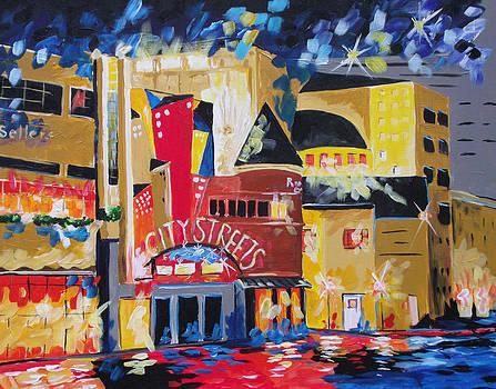 Sundance Square Fort Worth by Barbara Sudik