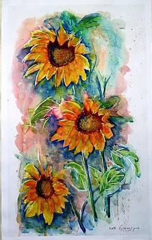 Sunflower by Baruch Neria-Kandel