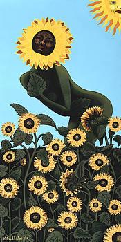 Sunflower Goddess by Victoria Christian