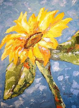 Sunflower Happiness by Sandra Lett
