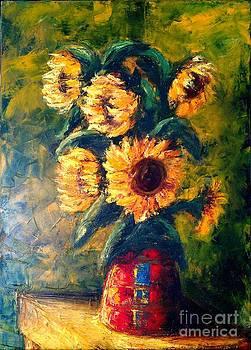 Sunflower by Irine Shotadze